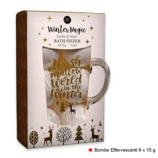 Winter Magic Vanilla & Musk Bath Fizzer