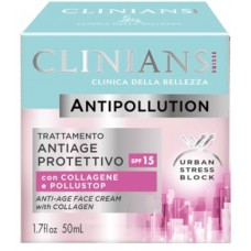 Clinians Anti-Age Face Cream with Collagen SPF15