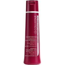 Collistar Pure Actives Keratin + Hyaluronic Acid Reconstructive Replumping Shampoo