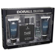 Creation Lamis Dorall Collection Fluid Intense 4 piece Gift Set For Men
