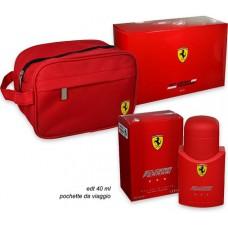 Ferrari Red EDT + Travel Bag Gift Pack