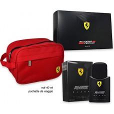Ferrari Black EDT + Travel Bag Gift Pack