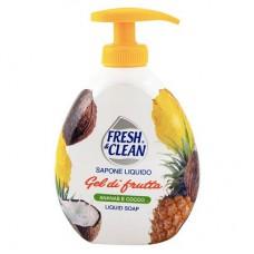 Fresh & Clean Liquid Soap Gel Di Frutta 300ml