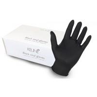 Keune Black Vinyl Gloves 100 pieces