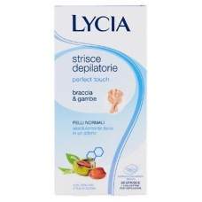 LYCIA Perfect Touch Wax Strips Arms & Legs - 20 pcs