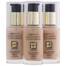 Max Factor Face Finity All Day Flawless 3 in 1 Foundation (8 shades)