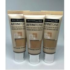 Maybelline Affinitone Unifying Foundation (4 shades)