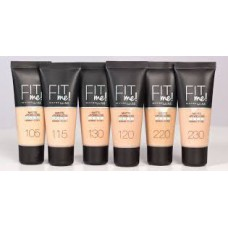 Maybelline Fit Me Matte & Poreless Foundation (10 Shades)
