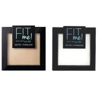 Maybelline Fit Me Matte + Poreless Pressed Powder (4 shades)
