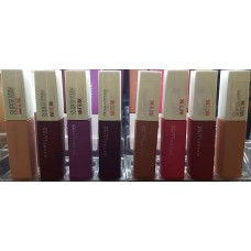 Maybelline Superstay 24 Matte Ink Lipstick (36 shades)
