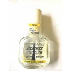 Maybelline Express manicure growth serum short brittle nails