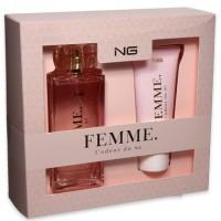 Ng Femme L'odeur du NG EDP 100ml + shower gel Giftset for Women