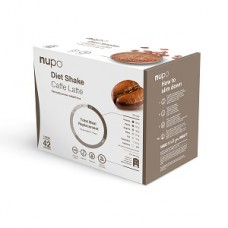 Nupo Diet Shake - Caffe Latte Value Pack