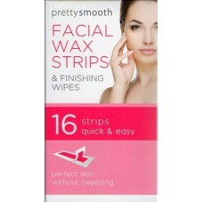 Pretty Smooth Facial Wax Strips