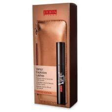 Pupa make-up kit Vamp mascara explosive lash gold + Pouch
