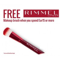 Rimmel  FREE Makeup Brush when you spend Eur 25