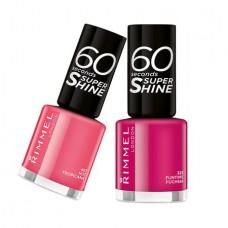 Rimmel 60 seconds Super Shine Nail Polish (10 shades)