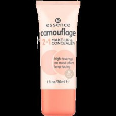 ESSENCE CAMOUFLAGE 2IN1 MAKE UP & CONCEALER 10*