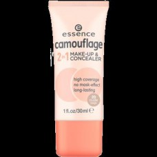 ESSENCE CAMOUFLAGE 2IN1 MAKE UP & CONCEALER 20*