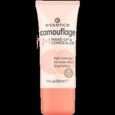 ESSENCE CAMOUFLAGE 2IN1 MAKE UP & CONCEALER 30*