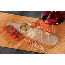 AdTrend 1 bowl + bamboo board + 15 sticks