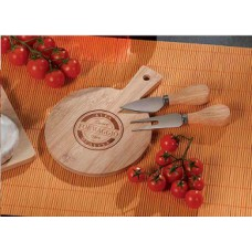 Adtrend 2 cheese knives + cheeseboard